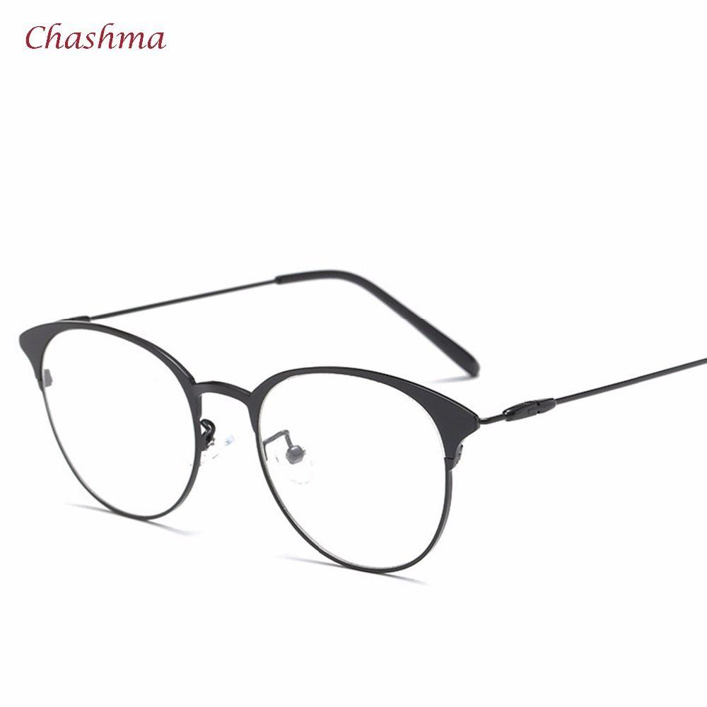e933128d4c Chashma Brand 2017 New Chashma Vintage Eyeglasses Women and Men Retro  Stylish Eyewear Frames Round Glasses