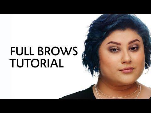 Full & Natural Brows Tutorial | Sephora - YouTube #naturalbrows Full & Natural Brows Tutorial | Sephora - YouTube #naturalbrows
