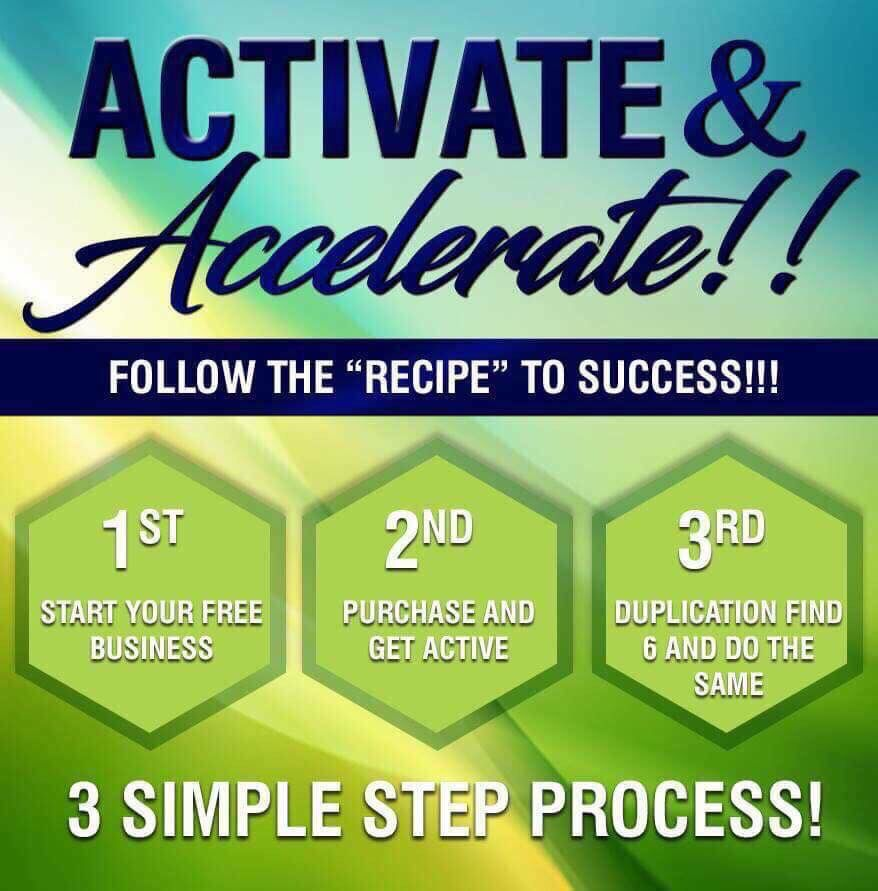 3 Simple Step Process Sign up with CTFO for FREE Order
