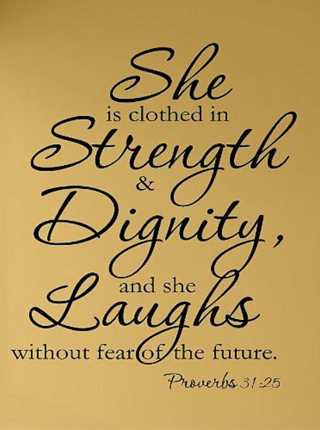 Clothed in Strength, Dignity and Laughs | special for mi | Pinterest ...