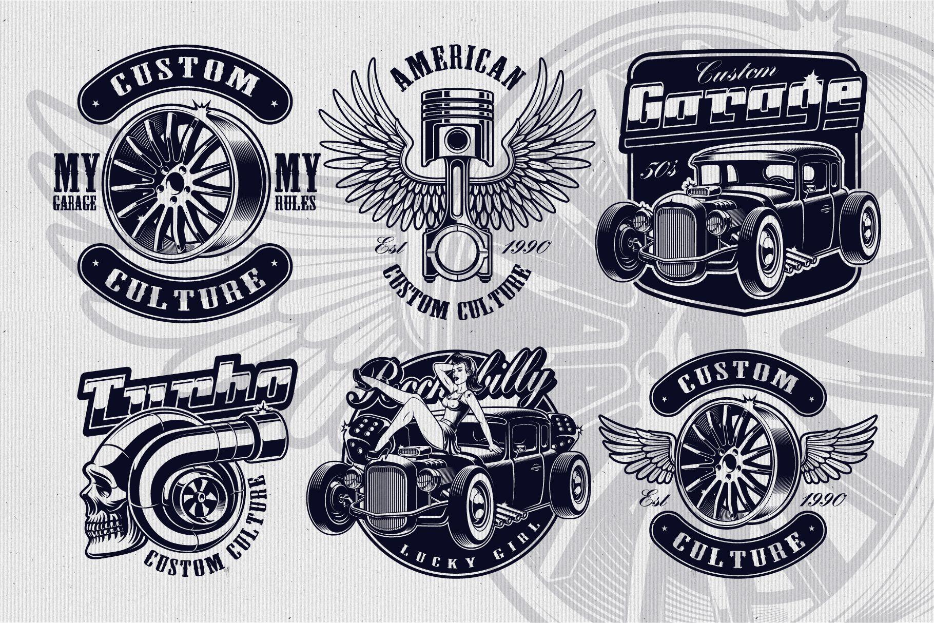 Car Service Vector Designs Vector Design Design Photoshop Design