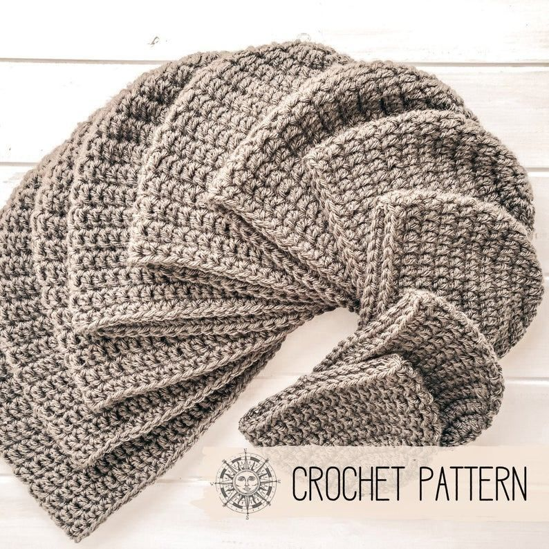 Chunky Crocheted Hats #menscrochetedhats