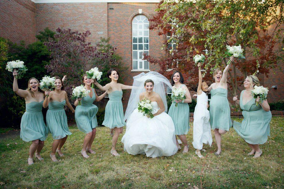 Katie dwyer 39 s november wedding mary martha 39 s florist for Bridesmaid dresses for november weddings