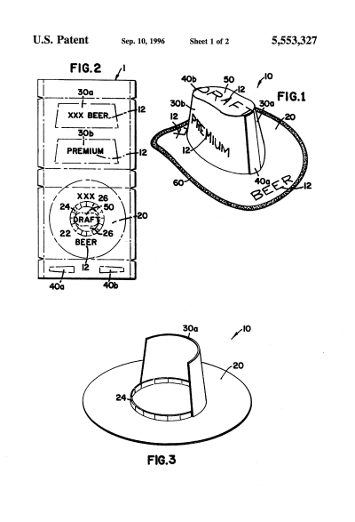 Cowboy Hat Template Viewing Beer Box Hat Leather Hat Pattern Cowboy Hat Pattern