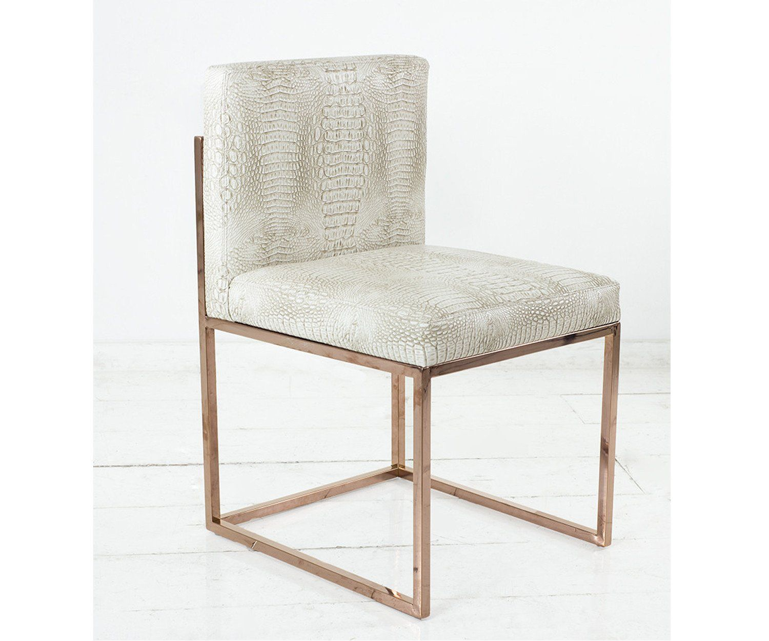 007 Dining Chair With Rose Gold Frame Dining Chairs Upholstered Dining Chairs Luxury Dining Chair