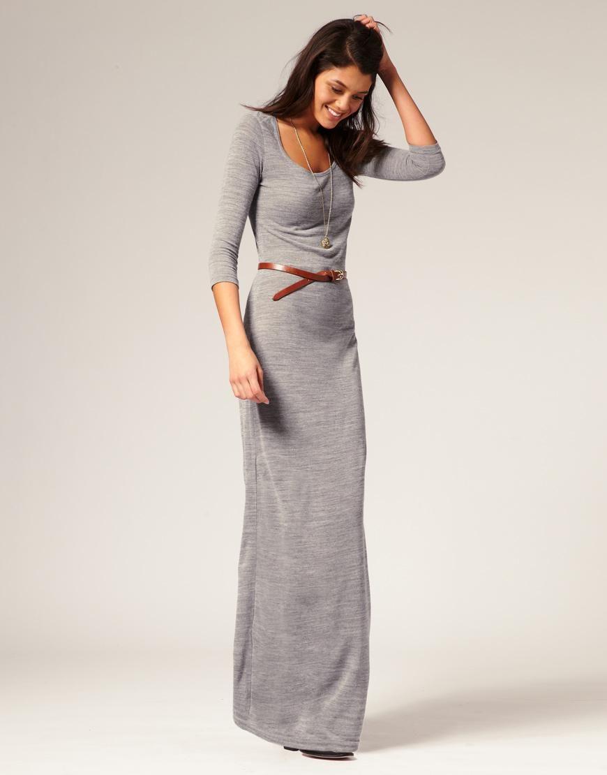Vero moda vero moda knitted urban maxi dress at asos outfits i