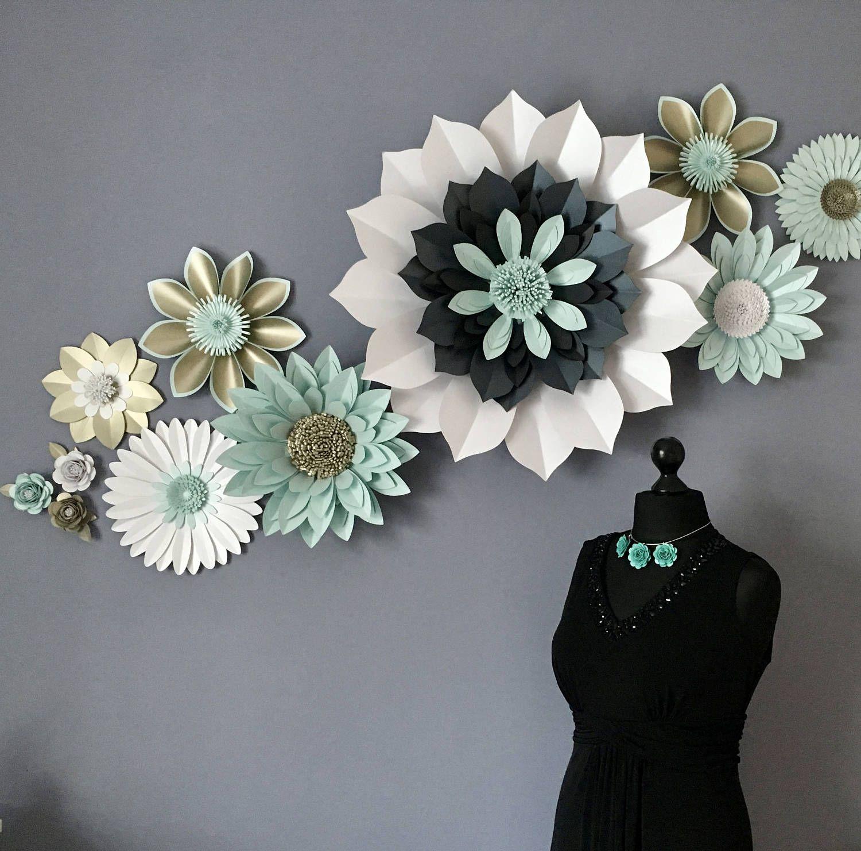 Strikingly Beautiful Flower An On Trend Piece Of Paper Sculpture A