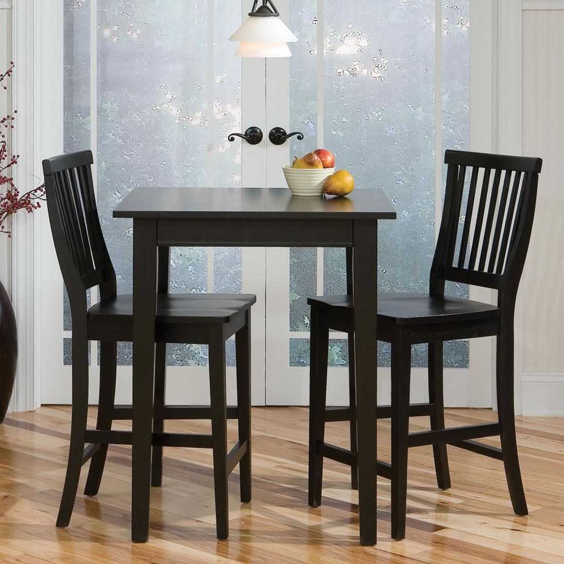 Arts & Crafts Bistro Table & Bar Stools  Dining Sets Pleasing Arts And Crafts Dining Room Set Inspiration