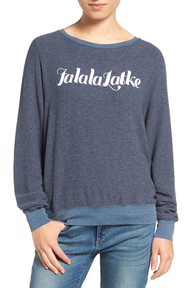 740e701282 Christmas Ready: 9 Holiday Sweaters from Wildfox. Wildfox Falalalatke  Pullover Sweater