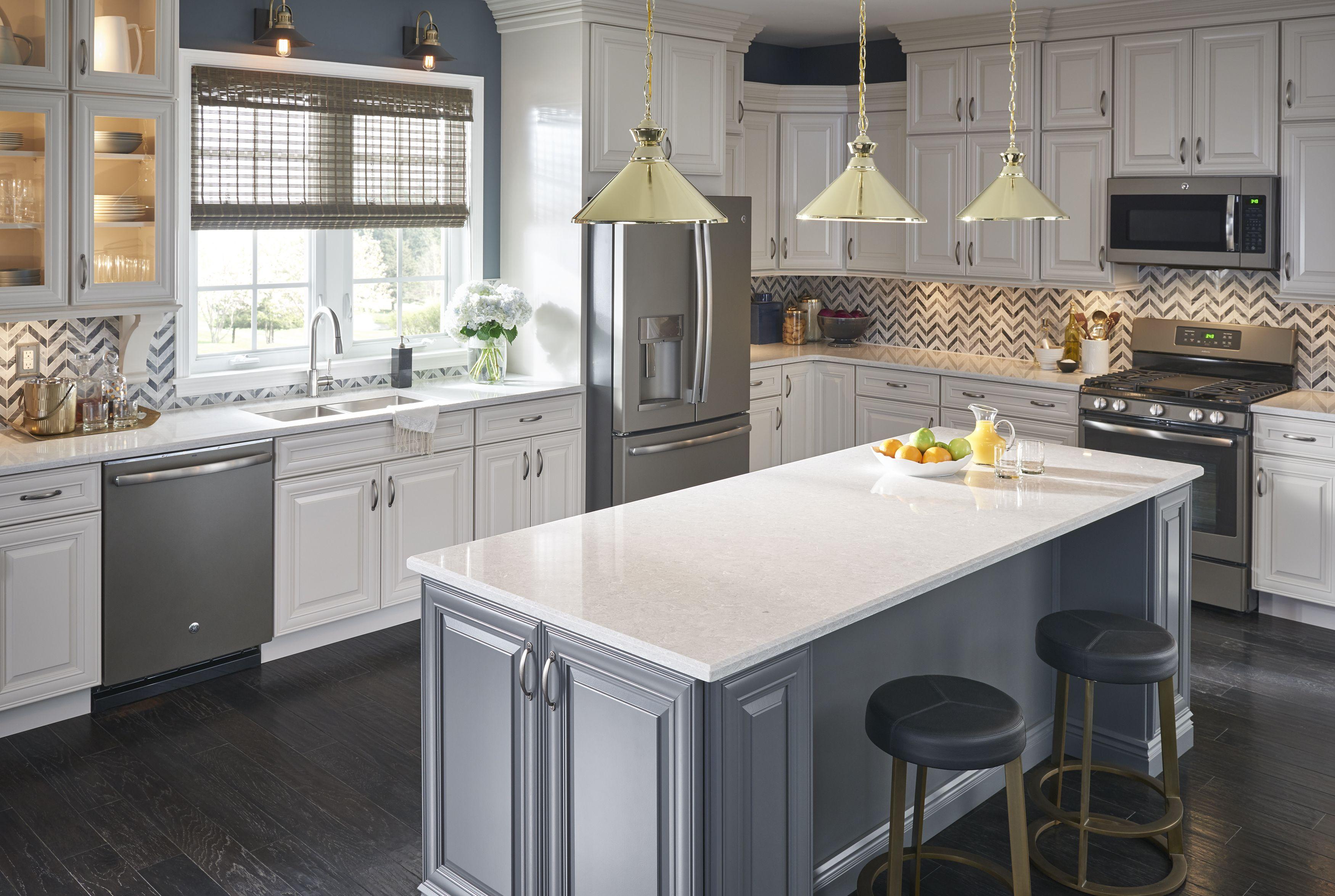 Quartet Quartz Counters By Viatera Photo Courtesy Of Viatera Countertops Home Design Decor Kitchen Design