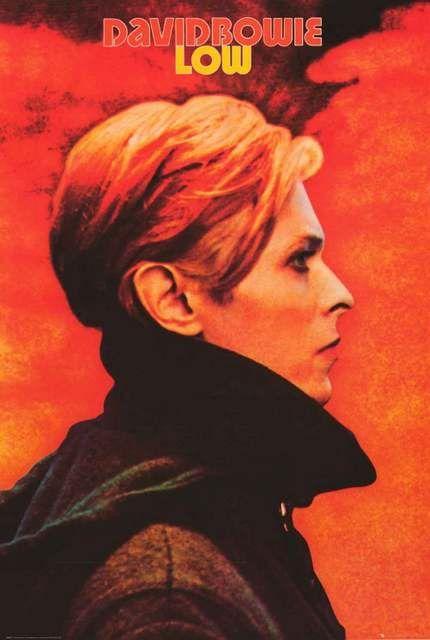David Bowie Low Album Cover Poster 24x36 #lowalbum
