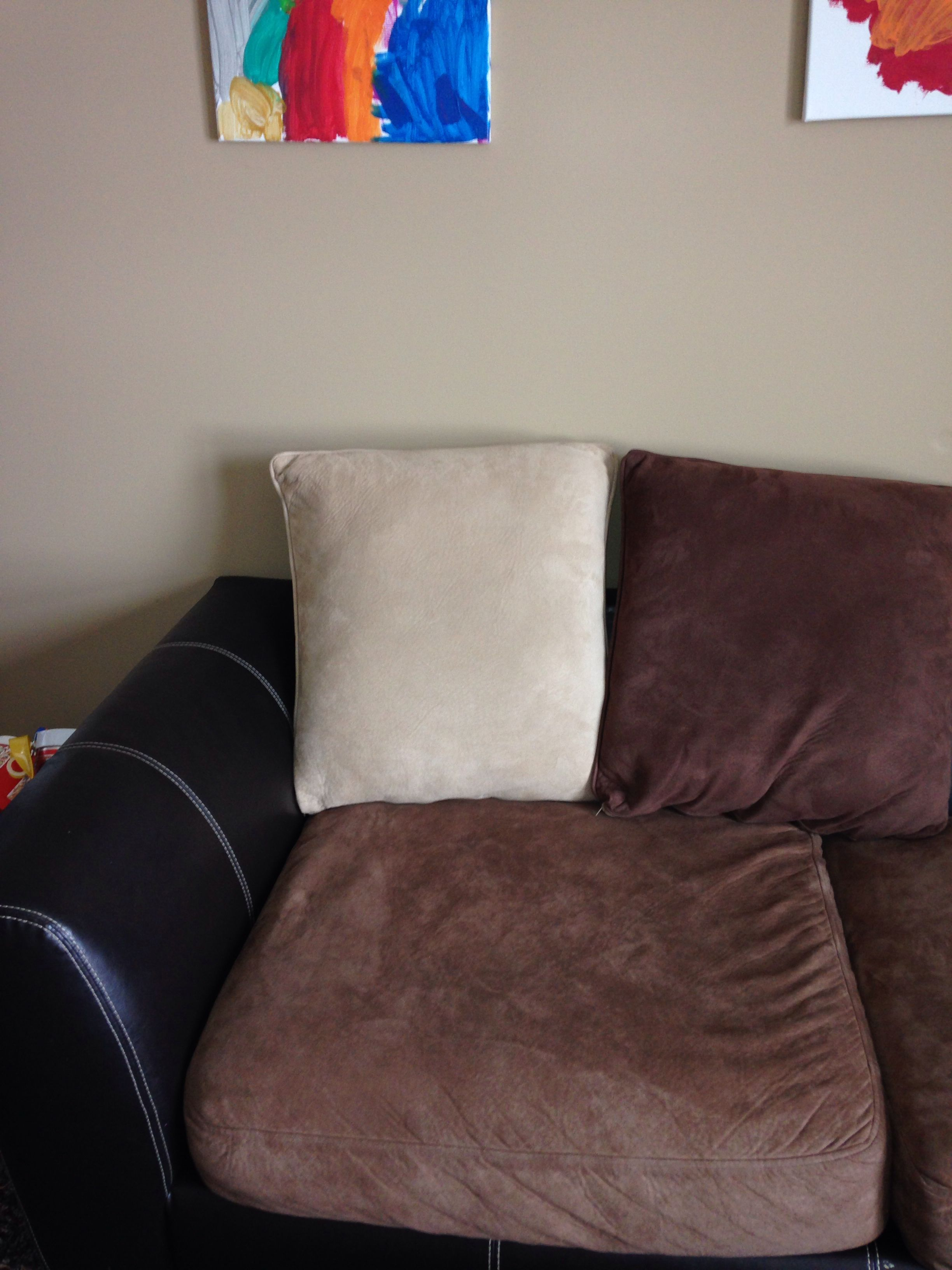 You can clean your couch microfiber cushion covers in the washing