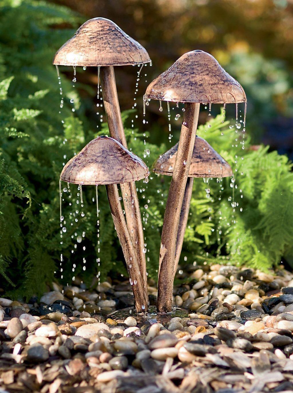 47 Amazing Decorative Garden Fountains Ideas