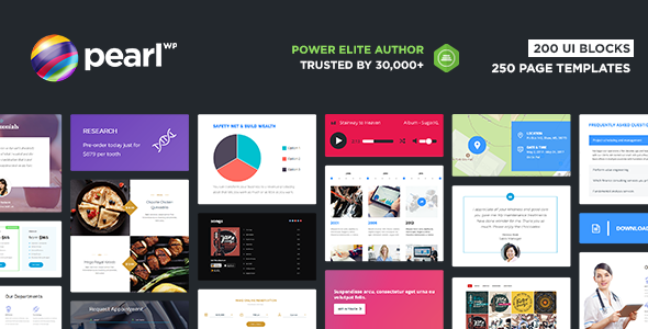 Pearl - Multipurpose & Corporate Business WordPress Theme