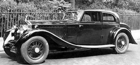 1931 re-bodied Saloon by Carlton (chassis 51GX)