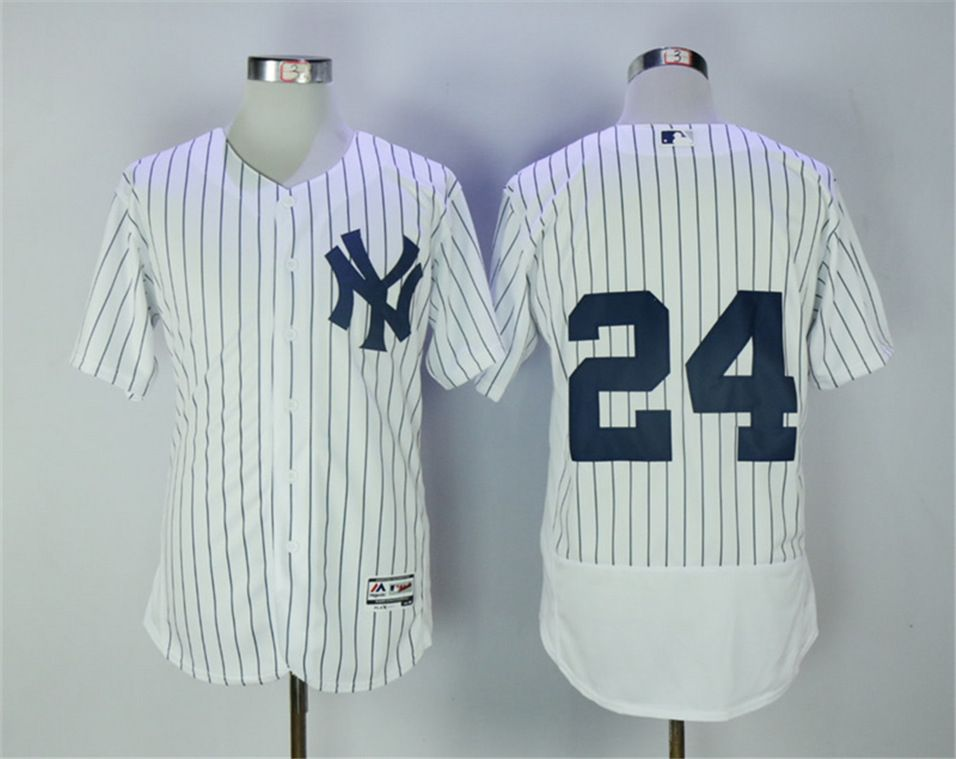 d23856fbb25 Yankees 24 Robinson Cano White Flexbase Jersey   Baseball New York ...