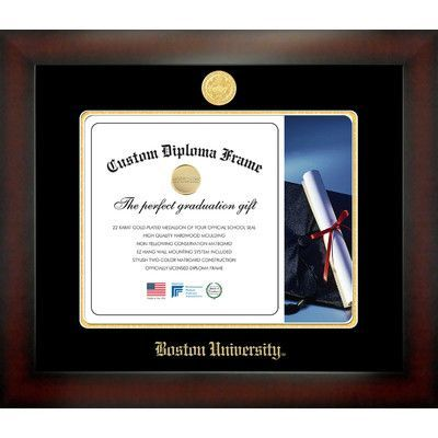 Campus Images NCAA Boston University Infinity Diploma Picture Frame ...