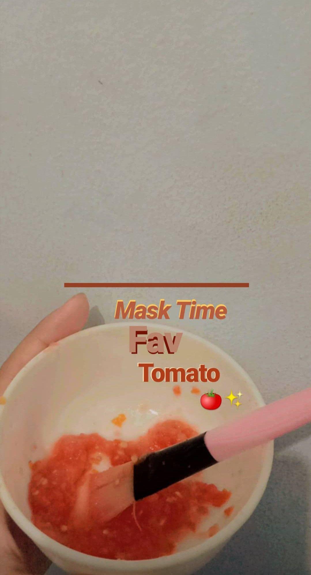 Cara Menghilangkan Jerawat Dengan Mentimun Dan Tomat