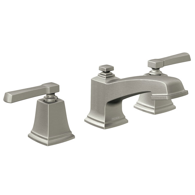 Moen Boardwalk 2 Handle Lavatory Faucet Nickel Rona Sink