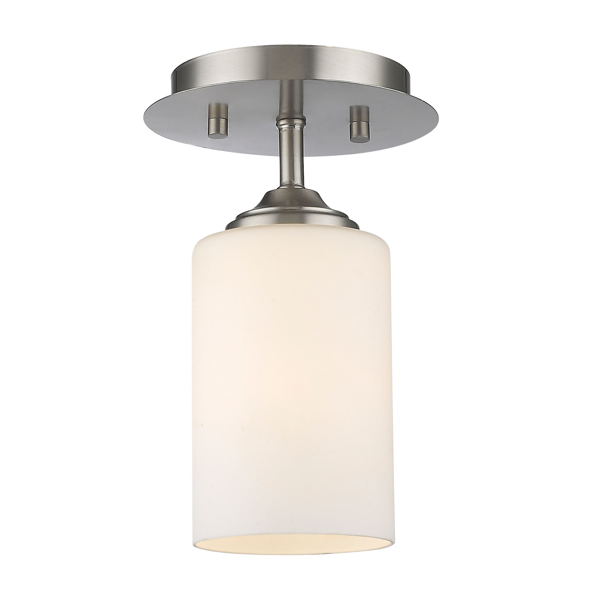 george ceilings wide mounts product light three zm mount dots transitional nickel ceiling brushed semi kovacs flush