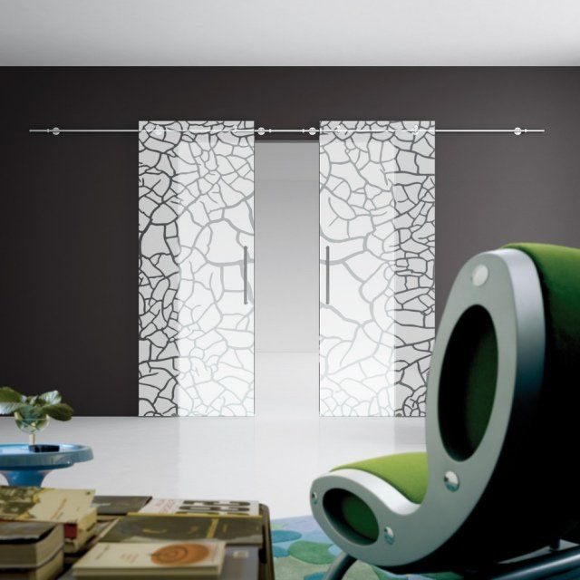 Porte coulissante de design moderne 6 avantages majeurs portes coulissantes double porte - Recouvrir porte interieure ...