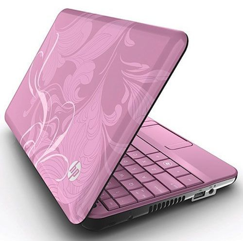 Hp Mini 110 Xp Netbook Gets New Colors And Features Walyou Mini Laptop Pink Laptop Best Laptops