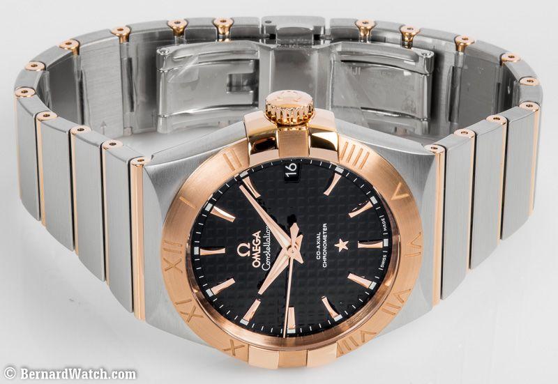 Omega Constellation Co-Axial 38mm : 123.20.38.21.01.001 : Bernard Watch