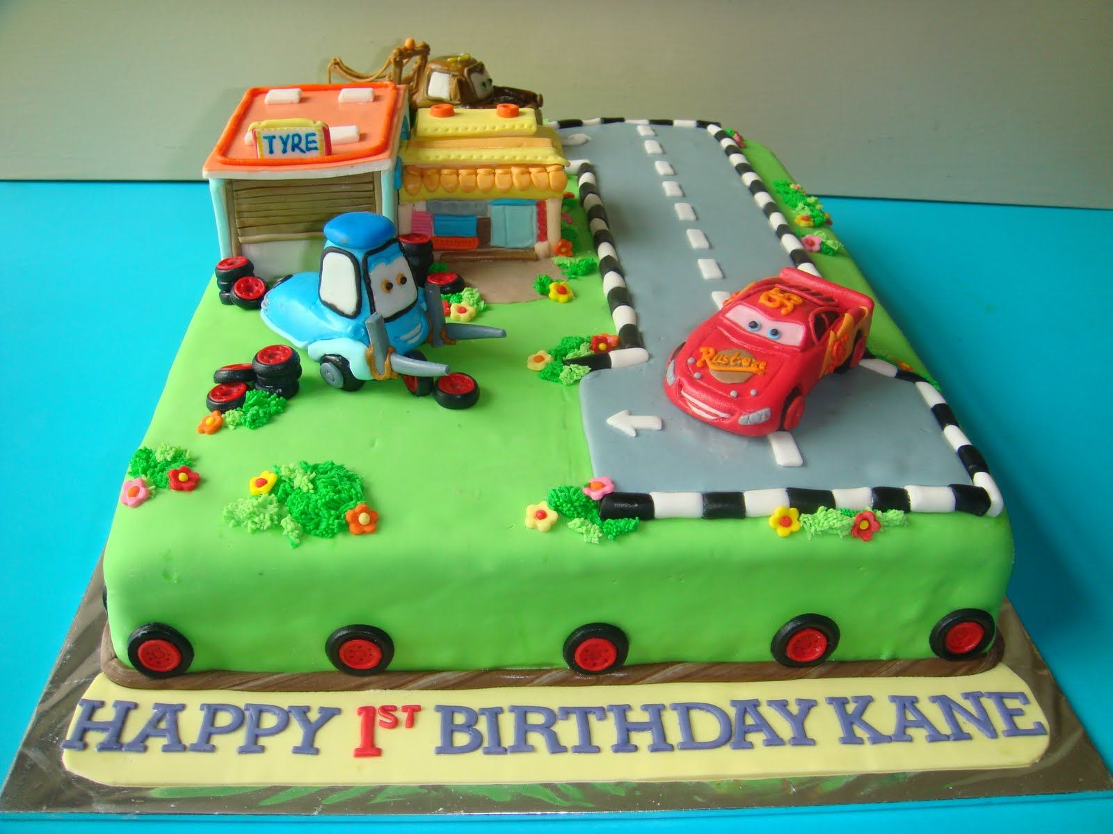 Outstanding Disney Cars Cake Repin Please Thanks With Images Disney Birthday Cards Printable Opercafe Filternl