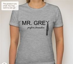 Mr. Grey prefers brunettes