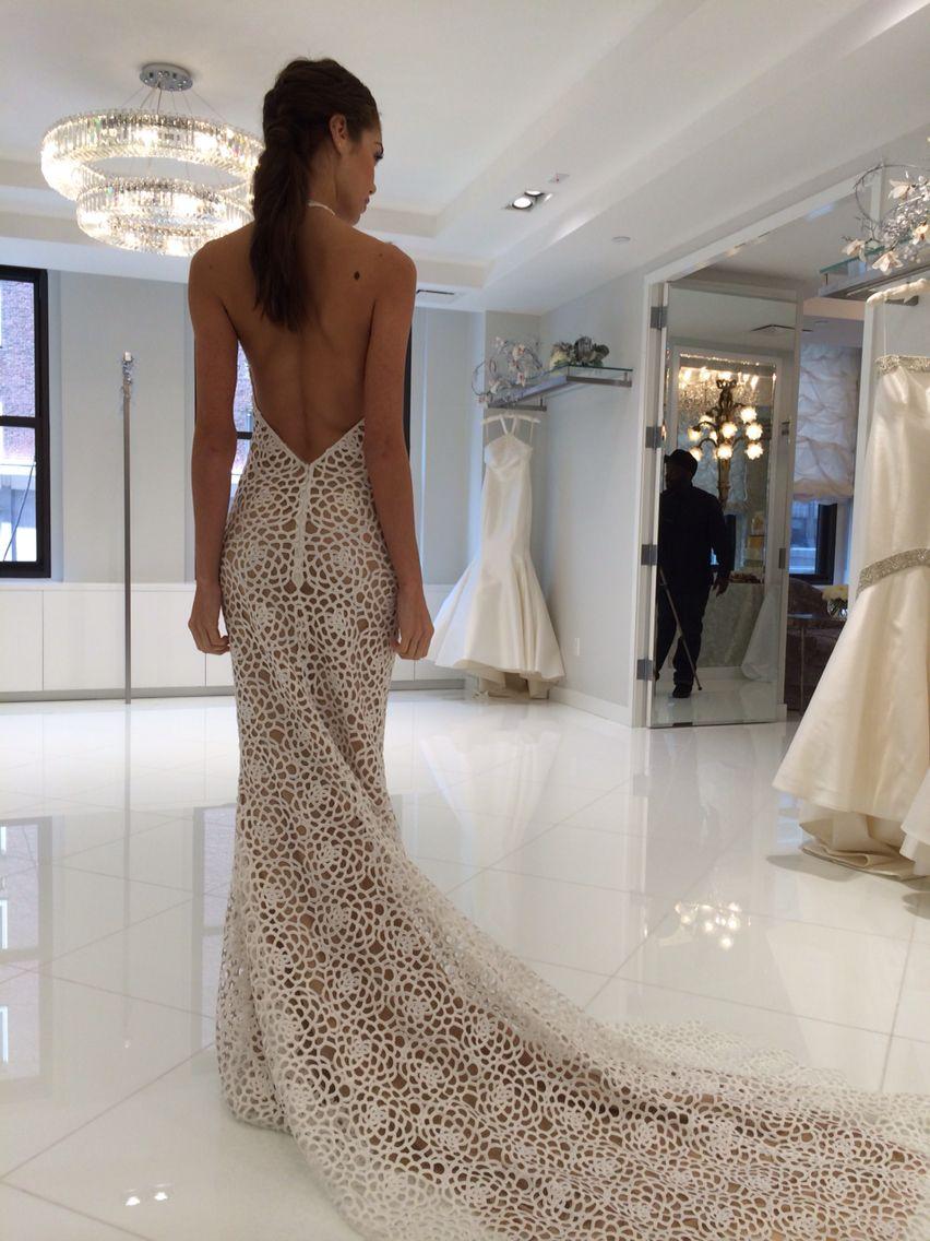 Randy Rahm, beautiful low back   Wedding Dresses   Pinterest ...