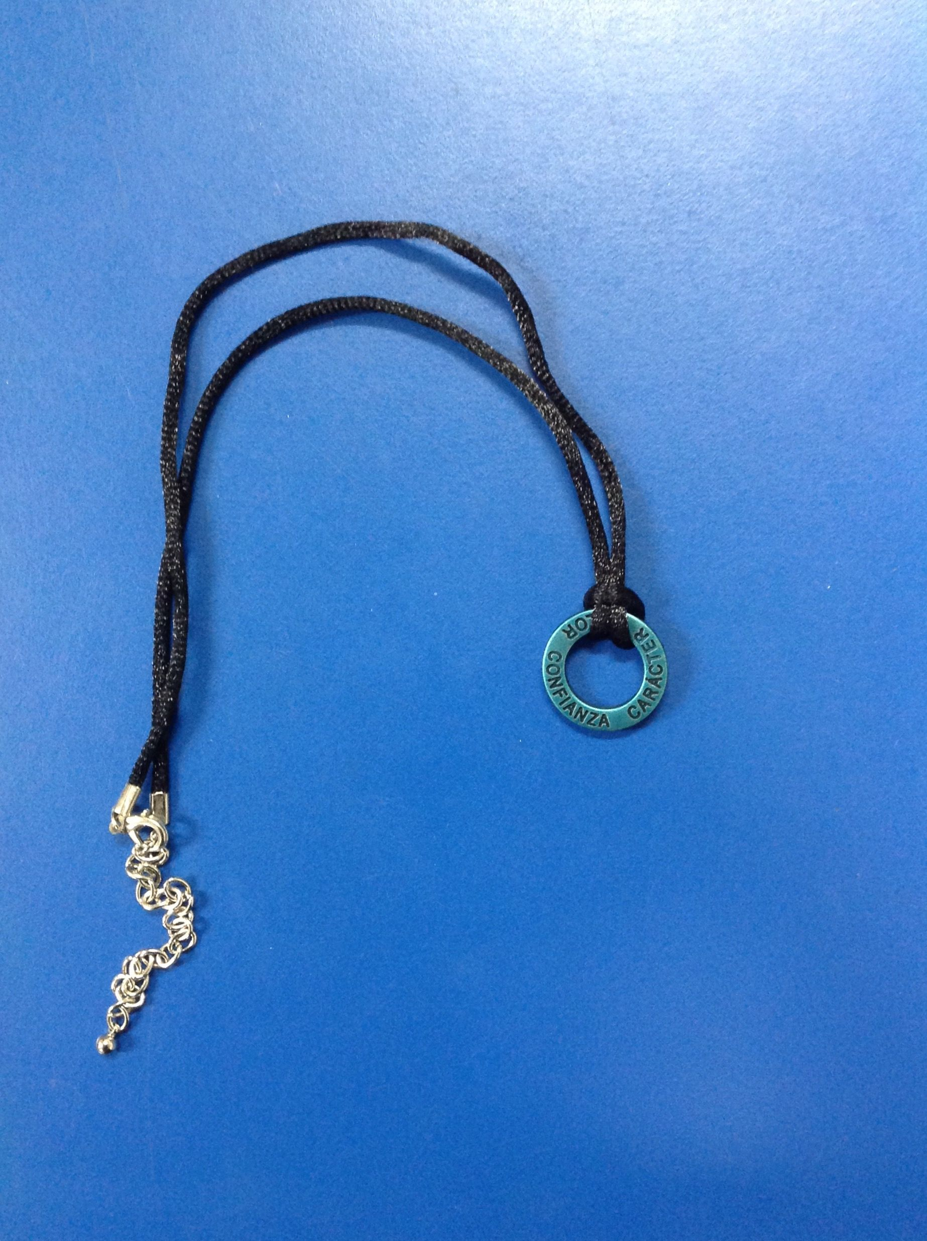 The Girl Scouts challenge 3 necklace 11–17 (BLUE) #09716. $3.00  The Girl Scouts challenge 2 necklace Junior Girl Scouts (SAME BUT PINK) #09715 $3