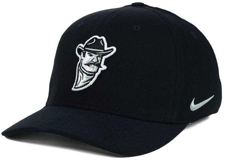 6b856a9d85261 Nike New Mexico State Aggies Classic Swoosh Cap - Black M/L | Daily ...