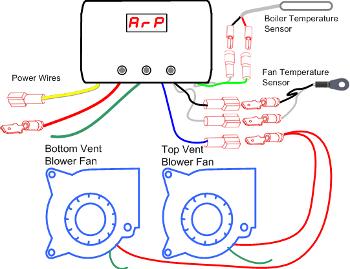 V4 1 Arp Rv Fridge Controller With 2 Fans Rv Rv Refrigerator Rv Parts