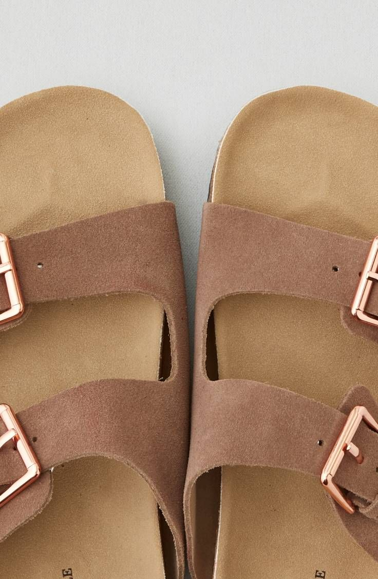 f4eff871edf AEO Double Buckle Sandal by American Eagle Outfitters