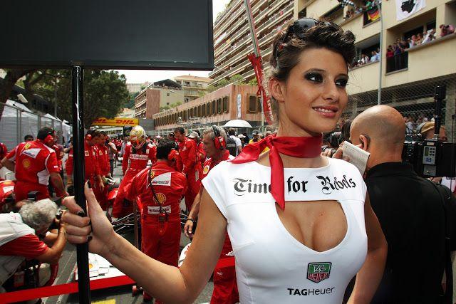 Michael Schumacher Pit Girl Finland