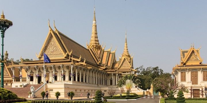 Royal Palace, Phnom Penh, Mekong Lowlands, Cambodia, Asia
