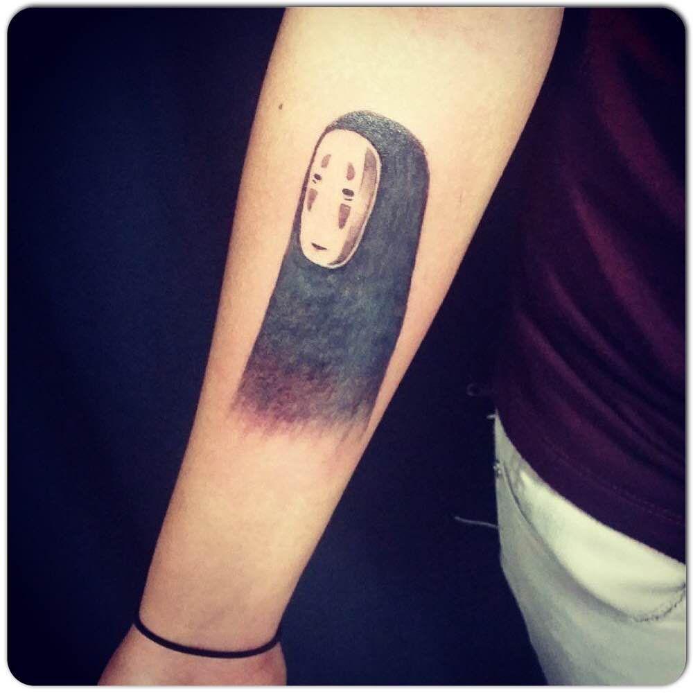 Spirited Away Ghost Tattooed By Jen Torontotattoos Goldenirontattoostudio Tattoos Inked Bodyart Tattoolife Tattooista Tattoos Ghost Tattoo Life Tattoos