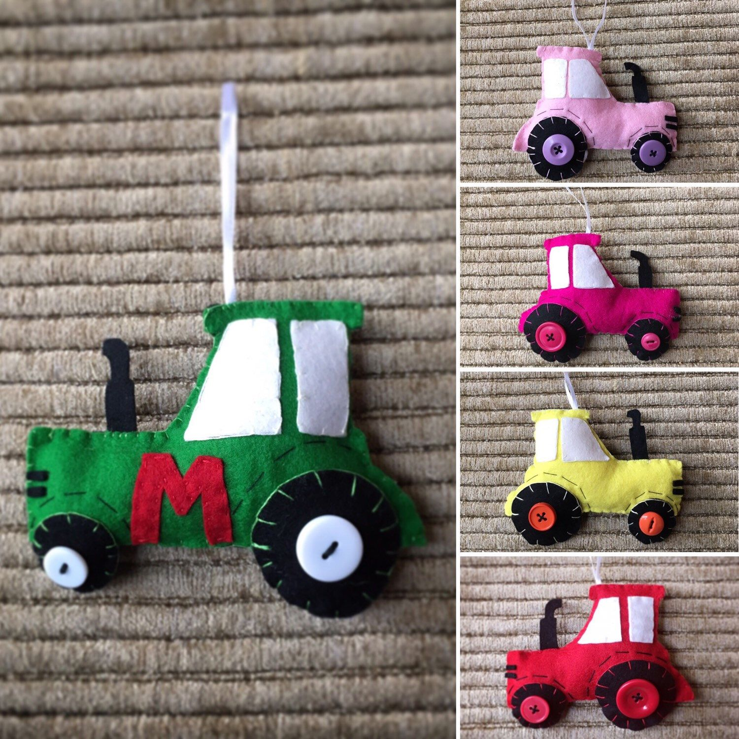 95 car toys  Order your tractor ornament today Perfect for a country kid Add an