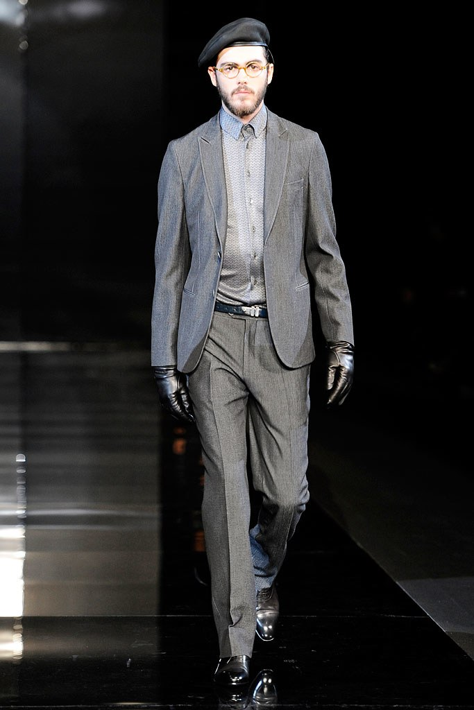 Armani Fall 2010 Menswear Fashion Show
