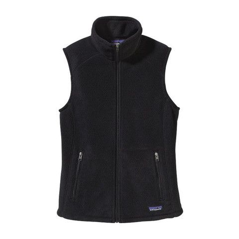 Patagonia Women's Synchilla Fleece Vest 25905 Black