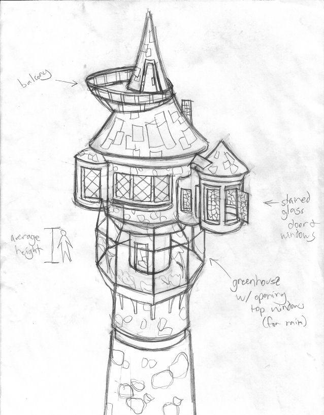 Rapunzel S Tower Rapunzel Tower Rapunzel Drawing Disney Art