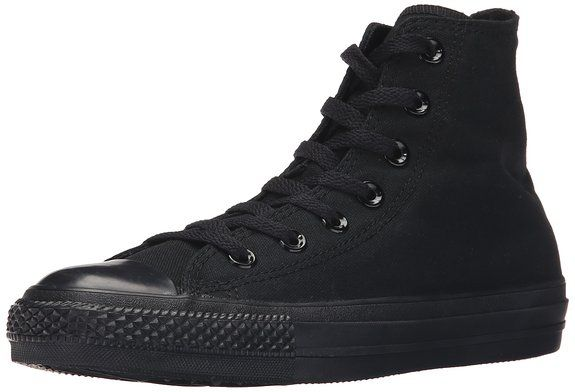 Converse Chuck Taylor All Star Hi, Sneaker unisex adulto, Nero (Black Mono)