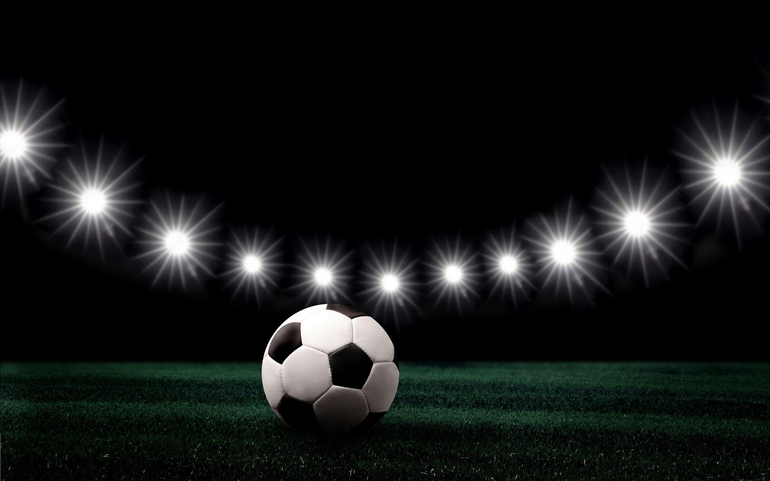 Sport football lights 1024x768 pixel PPT Backgrounds for