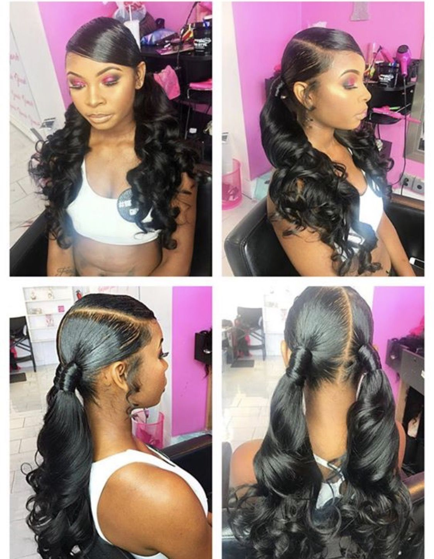 Follow Trillyaniaa96 Hair Styles Girl Hairstyles Ponytail Hairstyles