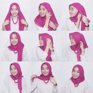 Job2gobackend Tutorial Hijab Mudah Kerudung Hijab