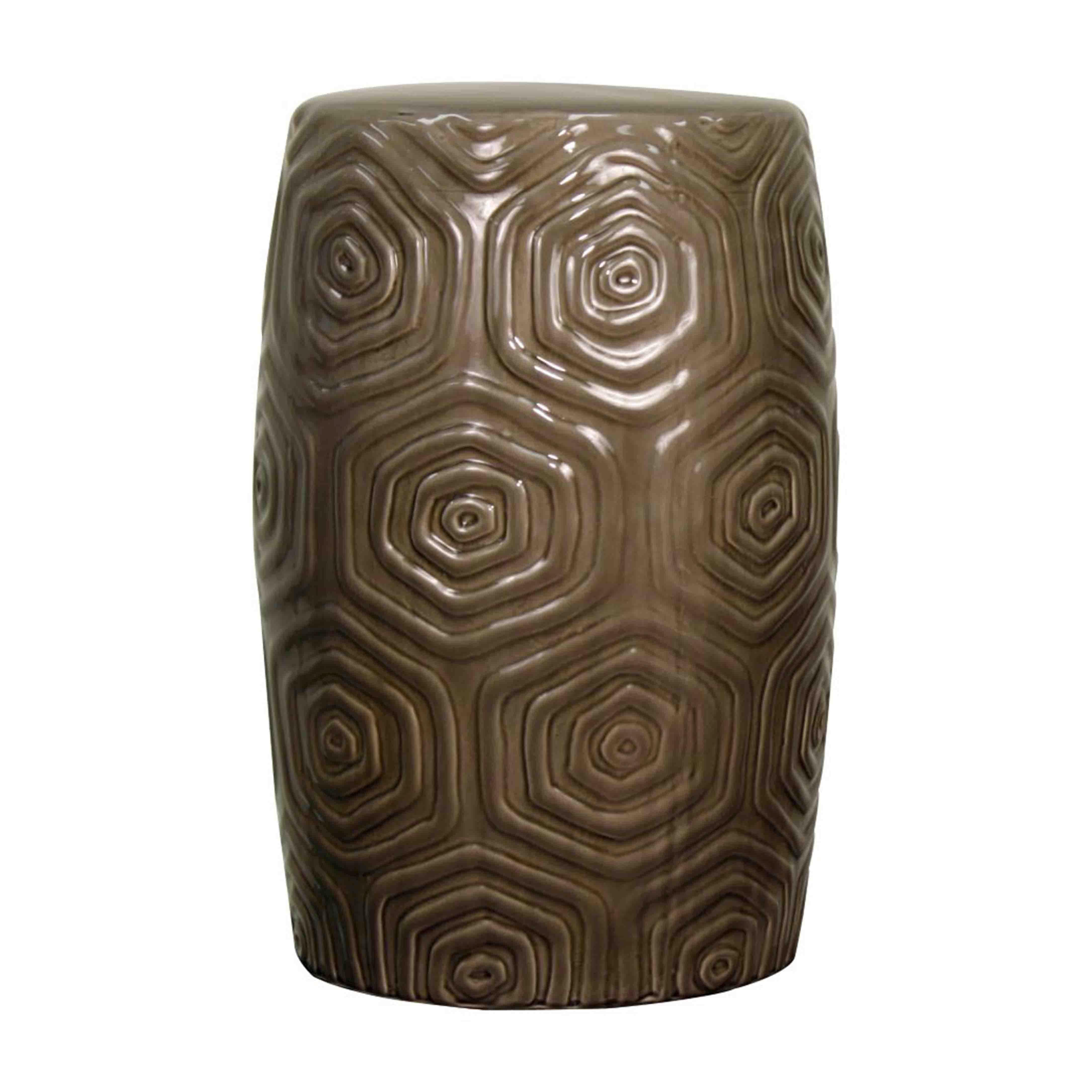 Daze Ceramic Garden Stool, Gray/439720-G | Interior & Architectural ...