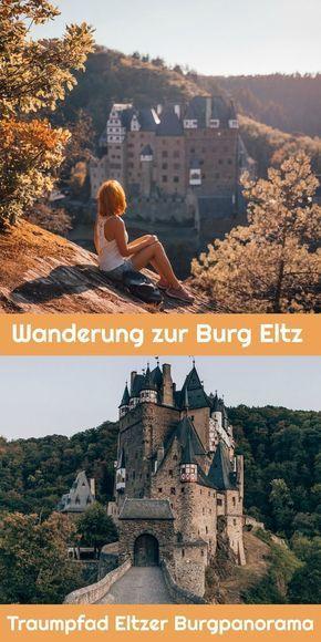 Caminata por el castillo de Eltz: el camino panorámico del sueño del castillo de Eltzer