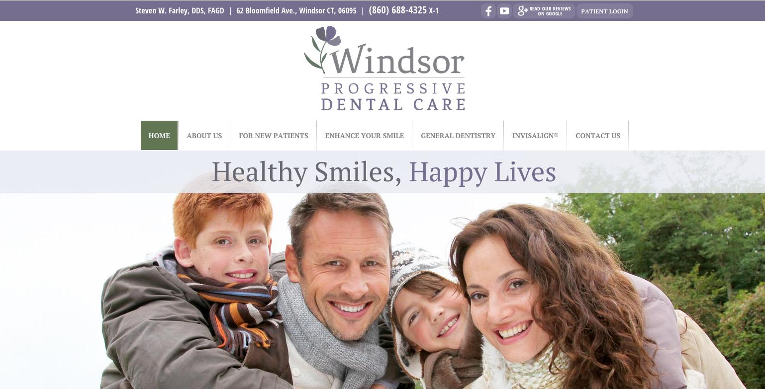 sesamewebdesign #psds #dental #responsive #topnav #top-nav ...