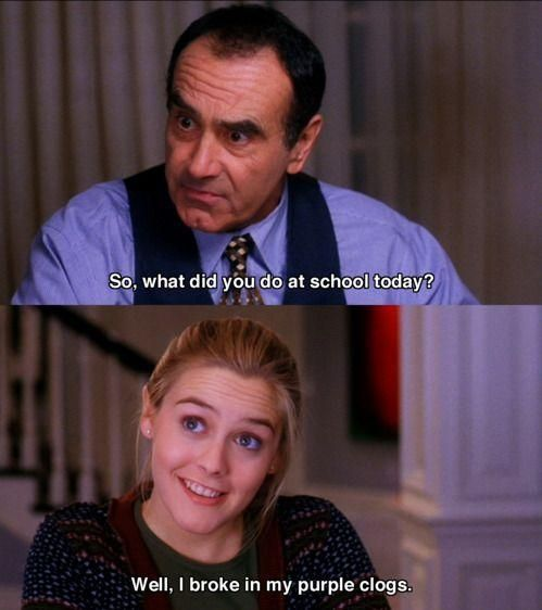 Funny Clueless Movie Quote (With images) Movie quotes