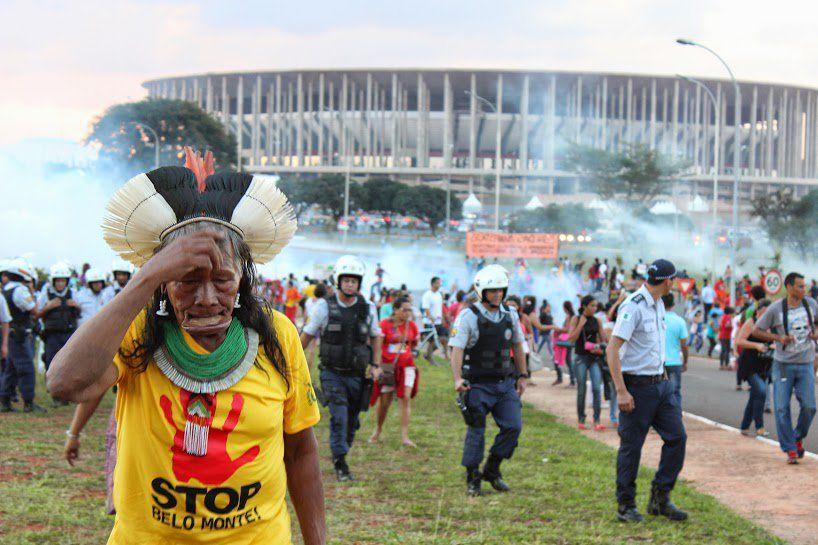 Raoni Metuktire, Chefe do povo Kayapo. Foto: Maíra Irigaray.